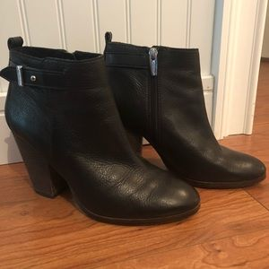 Authentic COACH Black Leather Booties